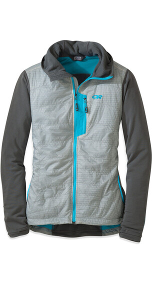 Outdoor Research W's Deviator Hoody alloy/pewter